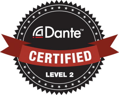 Dante Certification level 2